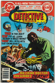 Detective Comics #494 VF Front Cover