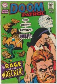 Doom Patrol #120 VG Front Cover