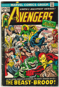 Avengers #105 GD Front Cover