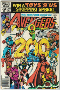 Avengers #200 VG Front Cover