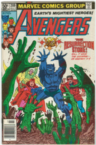 Avengers #209 FN Front Cover