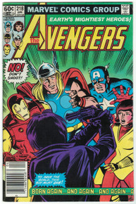 Avengers #218 FN Front Cover