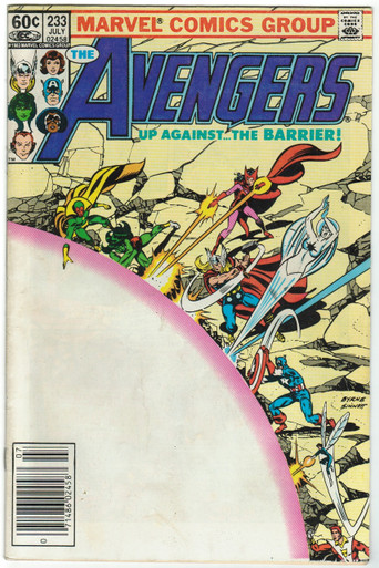 Avengers #233 FN Front Cover