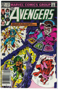 Avengers #235 FN Front Cover
