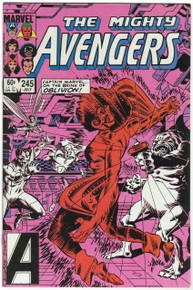 Avengers #245 VF/NM Front Cover
