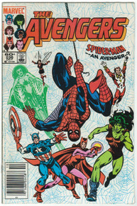 Avengers #236 VF Front Cover