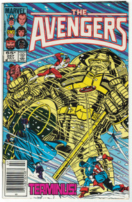 Avengers #257 VF Front Cover