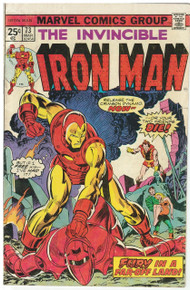 Iron Man #73 VG Front Cover