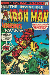 Iron Man #78 VF Front Cover