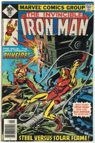 Iron Man #98 VG Front Cover