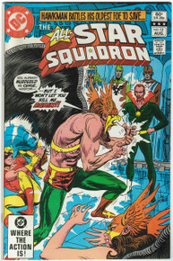 All Star Squadron #12 VF+ Front Cover