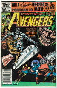 Avengers #215 FN Front Cover