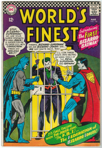 World's Finest #156 VF- Front Cover