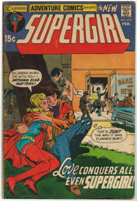 Adventure Comics #402 GD Front Cover