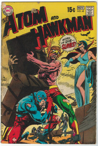 Atom And Hawkman #45 GD Front Cover