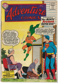 Adventure Comics #260 GD Front Cover