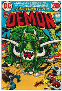 The Demon #3 FN+ Front Cover