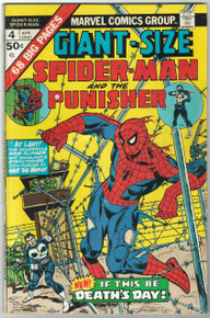 Giant Size Spider Man #4 VG Front Cover