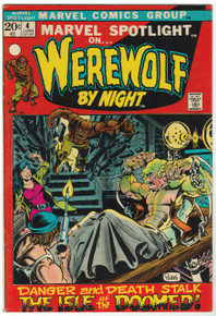 Marvel Spotlight #4 VF+ Front Cover
