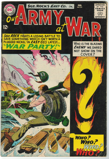 Our Army At War #151 FN- Front Cover