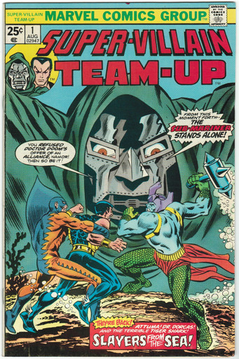 Super Villain Team Up #1 VF+ Front Cover