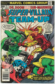 Super Villain Team Up #9 GD Front Cover