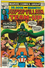 Super Villain Team Up #14 FN Front Cover
