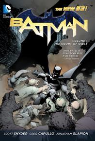 Batman Vol. 1 Court of Owls HC Front Cover