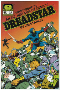 Dreadstar #1 VF/NM Front Cover
