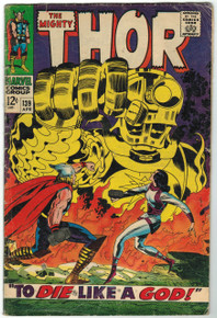 Thor #139 GD Front Cover