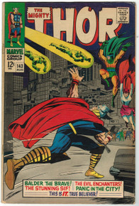 Thor #143 VG Front Cover