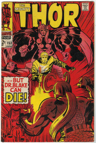 Thor #153 VG Front Cover