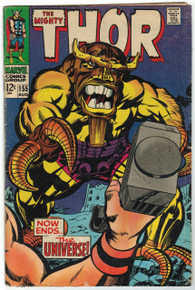 Thor #155 VG Front Cover