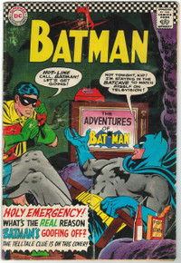 Batman #183 GD Front Cover