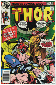 Thor #276 FN/VF Front Cover