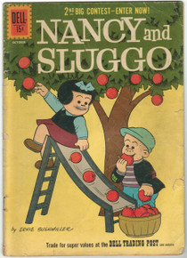Nancy and Sluggo #184 GD