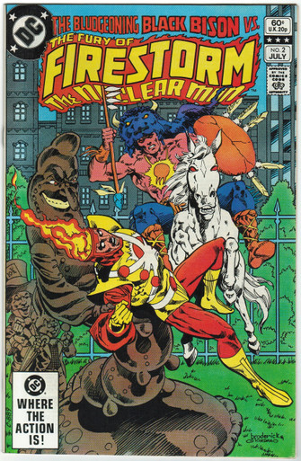 Fury of Firestorm #2 VF Front Cover