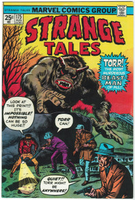 Strange Tales #175 NM Front Cover