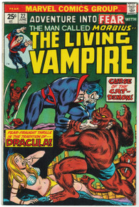 Fear #22 VG Front Cover