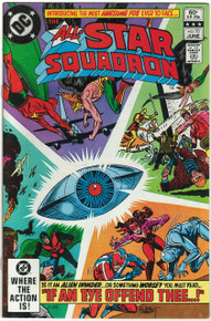All Star Squadron #10 VF Front Cover