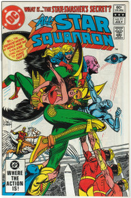 All Star Squadron #11 VF Front Cover