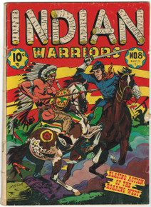 Indian Warriors #8 GD/VG Front Cover