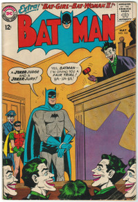 Batman #163 VG Front Cover