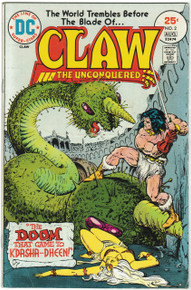 Claw #2 VG Front Cover