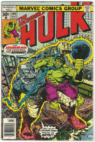 Incredible Hulk #209 GD Front Cover
