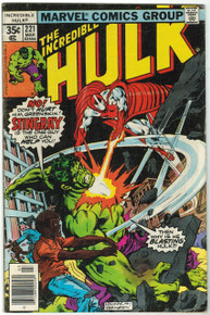 Incredible Hulk #221 VG Front Cover