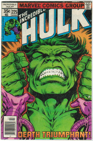 Incredible Hulk #225 VG Front Cover