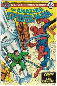 Amazing Spider Man Aim Toothpaste Promo VF/NM Front Cover