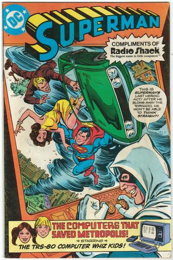 Superman 7/80 Radio Shack Promo - Hall of Justice Comics & Collectibles