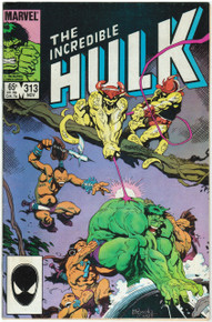 Incredible Hulk #313 FN Front Cover